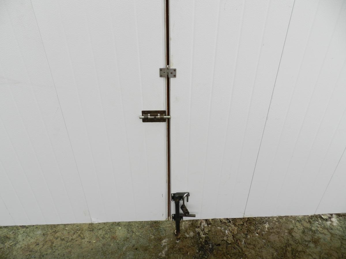 Электрозамок на распашные автоматические ворота