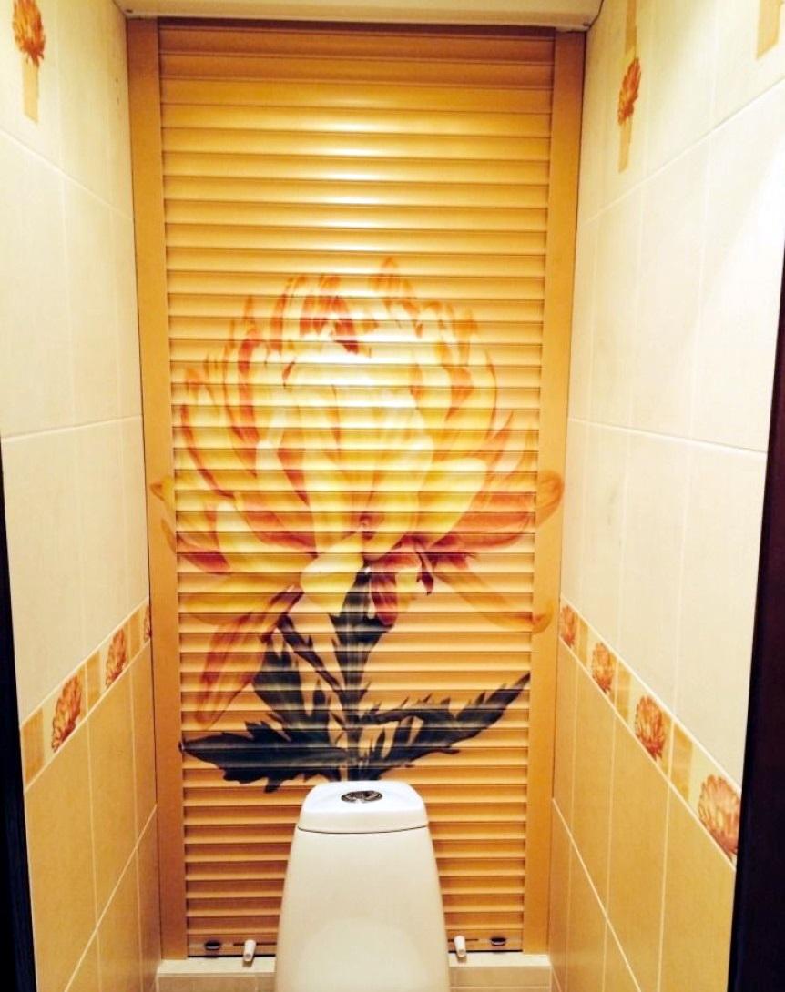 Как поставить рольставни в туалет своими руками 64
